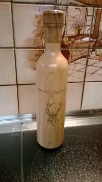 Pfeffermühle Hirsch Flasche