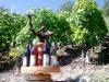 Wein Karusell mit Rebstock