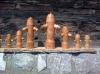 Verschiedene Pfeffermühlen in Hydranten Form