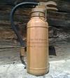 Feuerlöscher mit Schnaps
