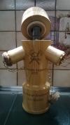 Hydrant mit Schnaps 35cl & Gläser